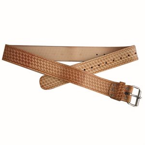 WORK BELT - LEATHER 2""