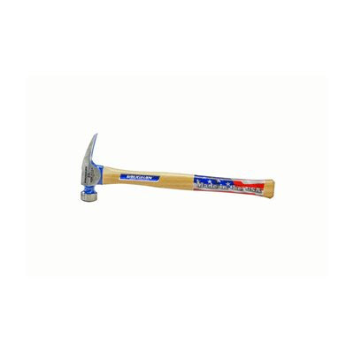 "CALIFORNIA FRAMING HAMMER - MILLED FACE 23 OZ WITH 17"" WOOD HANDLE"
