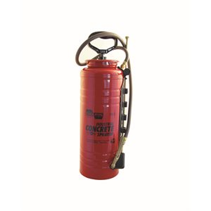INDUSTRIAL CONCRETE SPRAYER - STEEL OPEN HEAD TANK - 3-1/2 GALLON