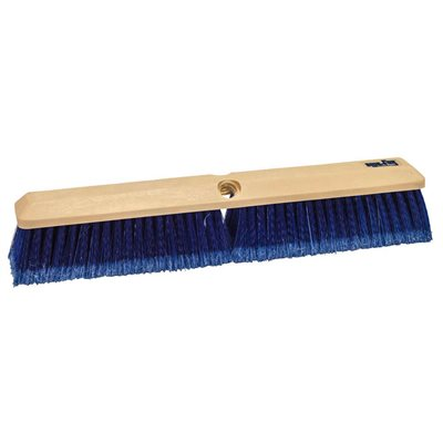 "TRUCK WASH & CONCRETE FINISH BRUSH - 14"" BLUE FLAGGED STYRENE"