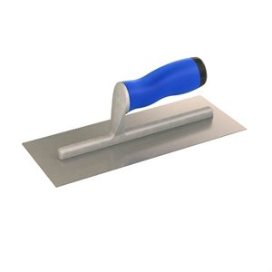 U NOTCHED TROWELS WITH COMFORT GRIP HANDLE
