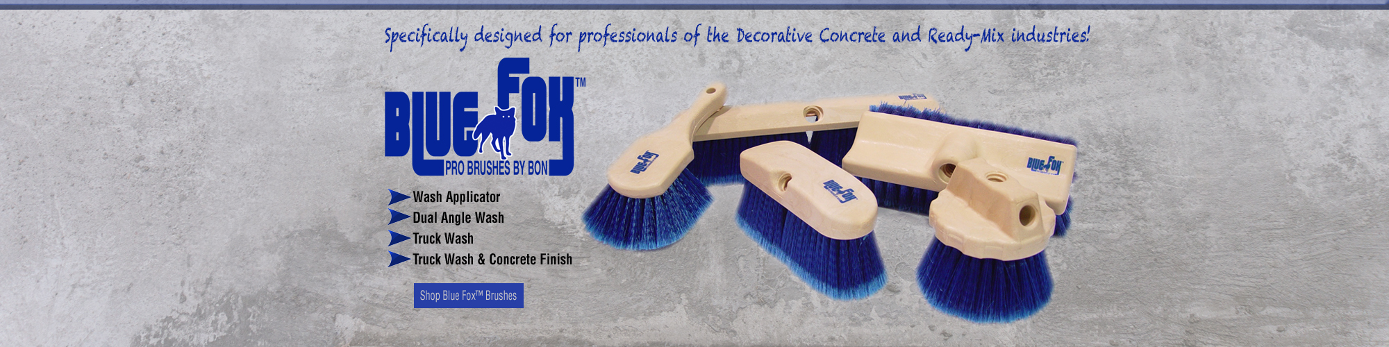 Blue Fox Professional Brushes by Bon