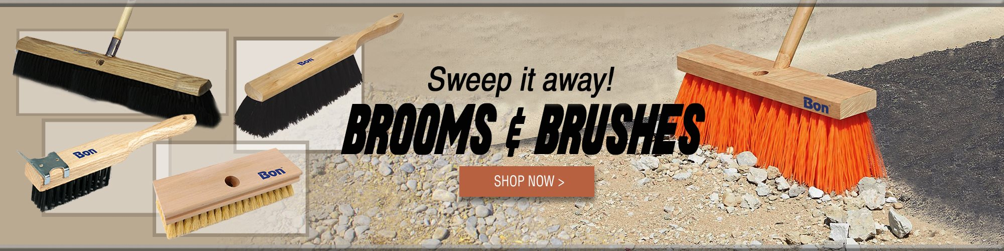 Bon Brooms and Brushes