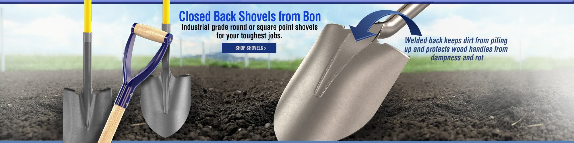 Shovels by Bon