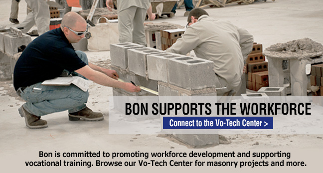 Bon is committed to promoting excellence in the construction trades
